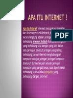 Apa Itu Internet