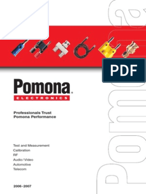 Pomona 5525 MicroGrabber Test Hook Patch Cord Kit Pack of 10 // New Sealed