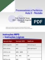 SPP-aula04 - Conjunto de Instruções MIPS 3
