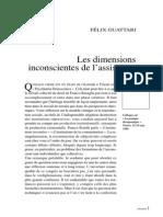 Les Dimensions Inconscientes de l'Assistance