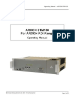 EES ARCON STM150 Operation Manual