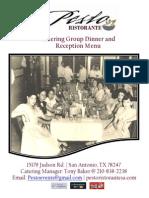 pesto catering reception menu -rev 11-13