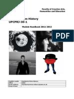 Topics Handbook 11-12