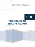 Programa de Intervenc.