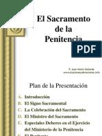 Sacramento de La Penitencia