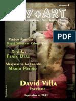 GAYART n4 Revista de Literatura y Arte Grafico Gay