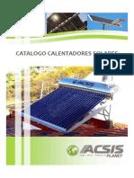 Catalogo Calentadores Solares 1002