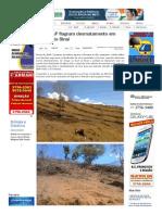 SiteBarra » PM e IDAF flagram desmatamento em Vila Monte Sinai