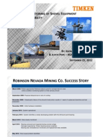 Condition Monitoring of Shovel Equipment Impacts Profitability Ppt