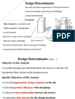 Fund Arch 1.3, Design Determinants