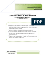Avaliacao Subsequente_Edital_14_2012
