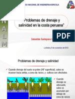 Problemas de Drenaje y Salinidad en La Costa Peruana