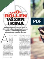"""""""CIO allt viktigare i Kina"""", för CIO Sweden"""
