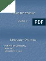 Ending the Venture