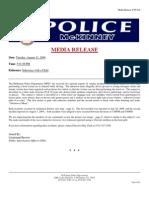 McKinney Indecency Suspect