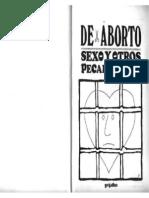 Eduardo del Río, Rius = De Aborto Sexo y Otros Pecados = rius