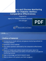 Insulin Delivery Glucose Monitoring
