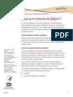 Sjogrens Syndrome Ff Espanol