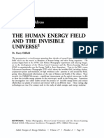 THE HUMAN ENERGY FIELD AND THE INVISIBLE UNIVERSE