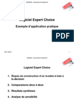 Expertchoice-ExempleAppication