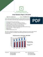 Email Statistics Report 2012 2016 Brochure