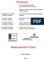 Measurement of Flow