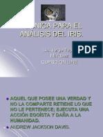 7+TÉCNICA+PARA+EL+ANÁLISIS+DEL+IRIS+ON+LINE+2008+e+mai l