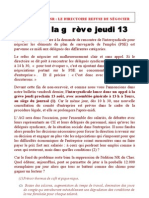 Bulletin Intersyndicale Du 11-08-09