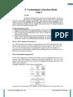 AC2 ASPDotNet QuestionBank Unit 1