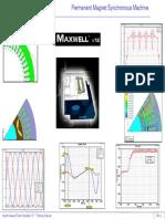 Machine Training PM Synchronous Ansoft Maxwell
