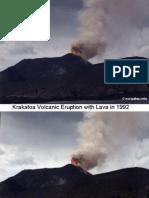 Volcanic Eruption With Lava
