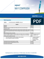 Tabla Comparativa Microsip vs Contpaq