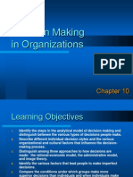 decision Making in Organization