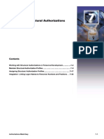 Structural Authorizations