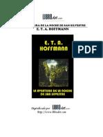 E T a Hoffman La Aventura de La Noche de San Silvestre