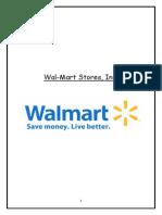 wallmart project report