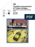 Condition Assessment of Timber Bridges