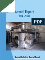 Gujarat Pollution Control Board Annual Report 09