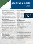 Dux Bellorum Faq and Errata Sheet-PDF-68k
