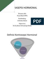 Kontrasepsi-Hormonal BUDI BACA