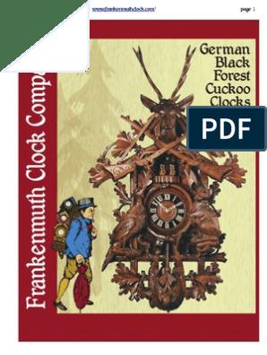 """2 1//4/"""" Wooden Cuckoo Clock Hands Hands 58mm"""