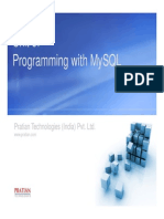 Unit6 ProgrammingWithMySQL