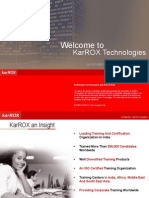 karROX International Country  Franchisee for Education and Training