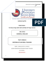 Speech Text Sakhliza Upsi31(a131pjj)