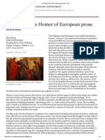 Herodotus, The Homer of European Prose _ TLS