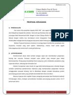 Proposal Kerjasama Shafiratour.com