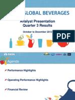 Analyst Presentation 2012 13 q3 Results