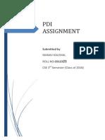 PDI Assignment