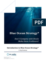 1-Day Blue Ocean Strategy Training
