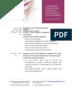 Programa Jornadas Amputado 23-11-2013